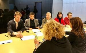 Reunión del consejo rector del Centro Lorca.