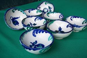 La cerámica Fajalauza estará presente en la muestra.