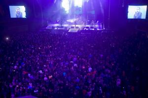 Uno de los conciertos en la Plaza de Toros de Granada.