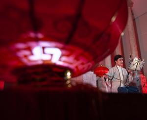 Bella imagen de un momento del recital.