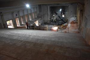 Imagen de las obras del Teatro Dengra.