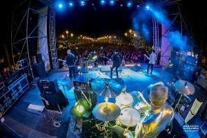 Espectacular imagen del concierto.