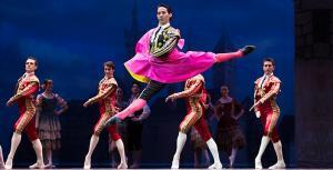 Una escena del ballet de 'Don Quijote'.