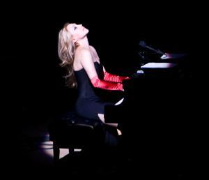 Eliane Elías, durante un concierto.