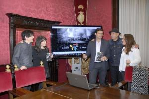 Presentación del DVD del documental en el Consistorio.