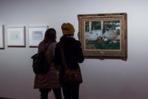 La muestra está en el Museo de Bellas Artes, planta superior del Palacio de Carlos V.