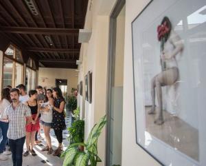 La exposición está en el edificio de la Normal, sede de Educación.