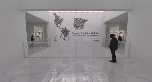Imagen virtual de la exposición.