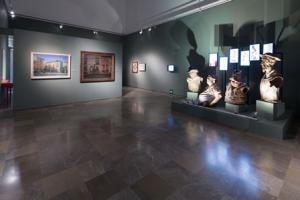 Una imagen de la muestra en el Museo de Bellas Artes.