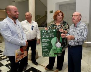 Presentación del festival flamenco de Ogíjares.