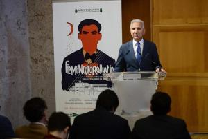 Presentación del nuevo espectáculo del programa 'Lorca y Granada en los Jardines del Generalife'.