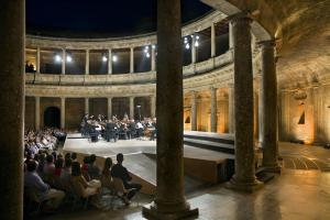 Concierto en el Palacio de Carlos V.
