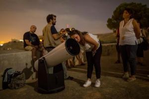 Uno de los talleres de astronomía del año pasado.