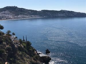 Bahía de La Herradura, donde ocurrió el desastre naval.