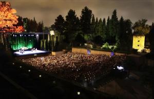 Uno de los espectáculos del programa Lorca y Granada.