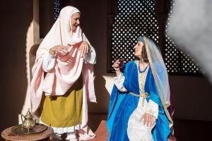 Visitas teatralizadas en el Palacio de Dar al-Horra.