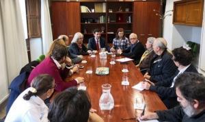 Reunión de la comisión técnica municipal sobre la zambra.