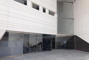 Entrada al Centro Lorca.