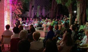 Recital de Carmelo Muros, lleno de público.