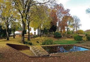Espectacular el aspecto otoñal en los jardines del carmen.