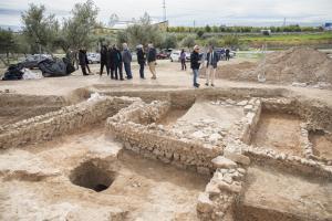 Exvacaciones en Medina Elvira, en Atarfe.