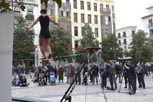 Presentación del festival en la Plaza del Carmen.