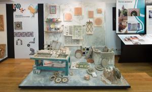 Exposición 'La Piel de la Alhambra'.