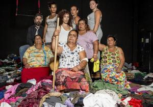 Mujeres protagonistas de 'Fuente Ovejuna'.