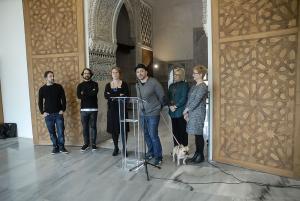 Presentación de la exposición en el Cuarto Real.
