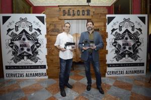 Juanjo Guarnido y a Juan Díaz Canales, premiados en la jornada inaugural