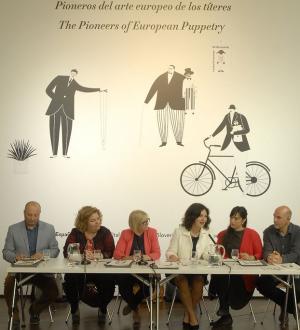 Presentación del proyecto 'Pioneros del arte europeo de los títeres'.