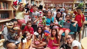 Los niños y niñas, protagonistas de la iniciativa de la biblioteca de Híjar.
