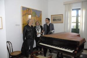 Francisco Cuenca y María de Leyva con Pablo Sycet.