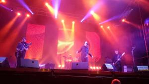 091, durante su actuación en el Sonorama.