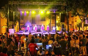 Bailarinas del Irish Treble, que cerraron el festival.