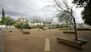 El parque, antes de su deterioro.