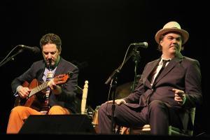 Un momento del concierto en Almuñécar.