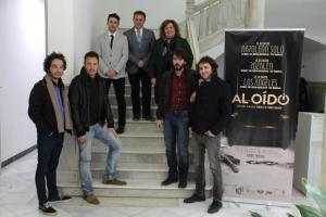 Presentación del festival 'Al oído', en el Palacio de los Condes de Gabia.