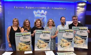 Presentación del festival en el Ayuntamiento de Almuñécar.