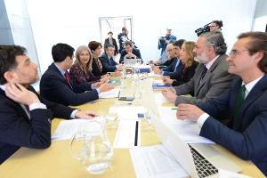 La consejera ha presidido el Consejo Rector del Centro Lorca.