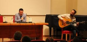 Juan Pinilla, durante su intervención en los cursos de verano.