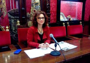 La concejala de Ciudadanos María del Mar Sánchez.