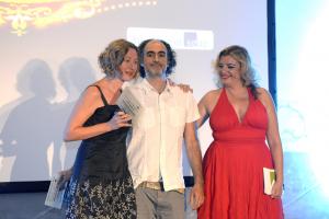 Gracia Morales y Juan Alberto Salvatierra recogen su merecido premio Lorca.