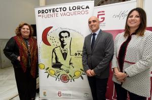 Presentación de la nueva edición de Lorca en Fuente Vaqueros.