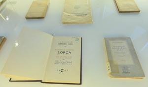 Alguno de los libros que componen la exposición.