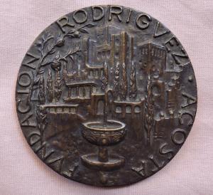 Medalla de la Fundación Rodríguez-Acosta.