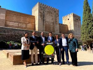 Presentación del Milnoff, este lunes en la Alhambra.