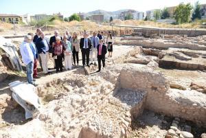 Excavaciones arqueológicas en los Mondragones.