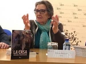 Dolores Montijano, en la presentación de 'La casa'.
