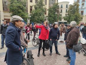 Concentración este miércoles en la Plaza del Carmen.